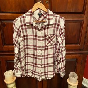 A.N.A flannel shirt really soft and light L